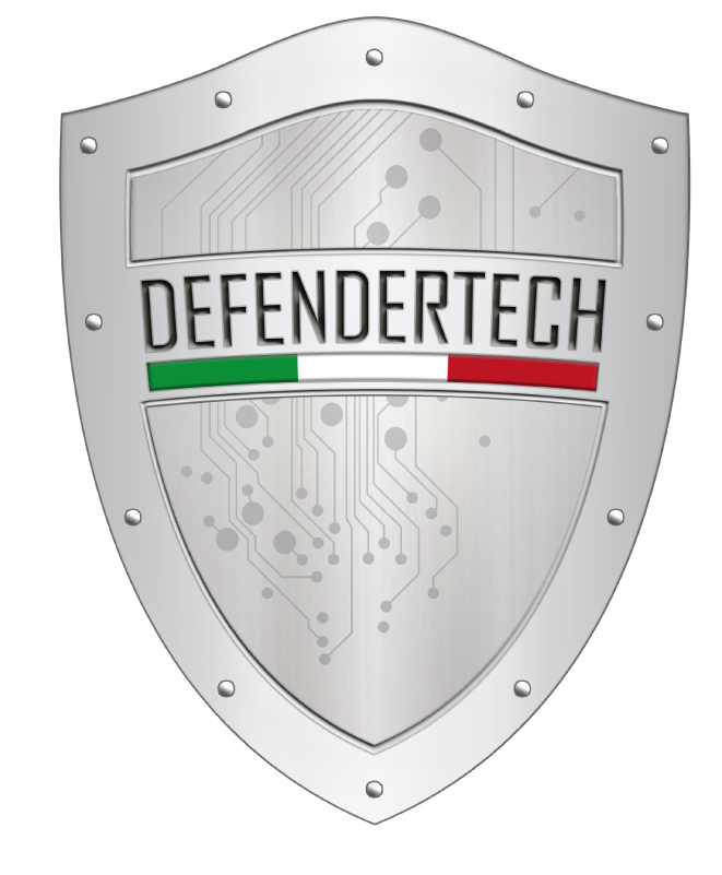 Logo defendertech senza sfondo